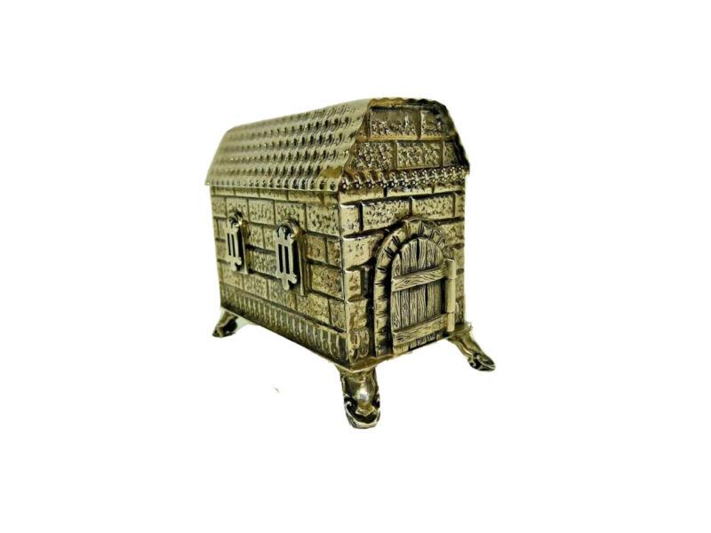 Sterling Silver Brick House Besamim by Netafim