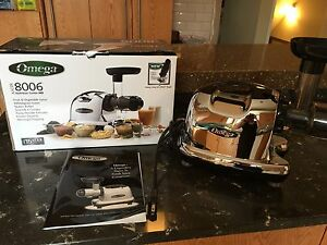 Omega 8006 Juicer/Nutrition Center