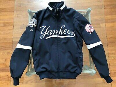 New York Yankees Authentic Championship On Field Majestic Jacket Mens Medium