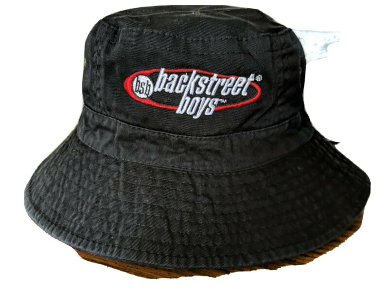 Vintage Backstreet Boys Logo Bucket Hat