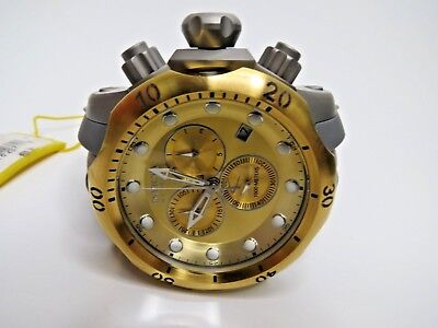Invicta Reserve Men's Venom Chronograph Watch Gray Poly Strap 16986