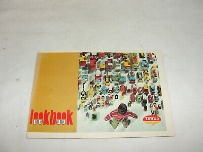 VIntage 1970 Tonka Look Book - with Tonka Jeep Snowplow Wrecker Listed