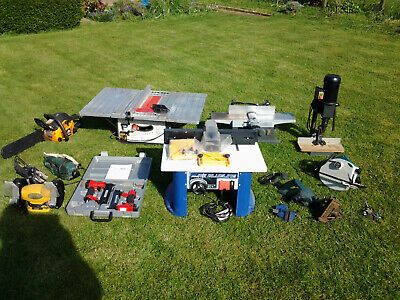 Various power tools in good used condition