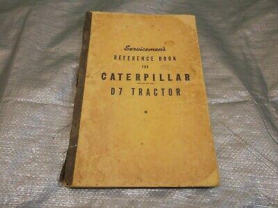 Caterpillar D7 Crawler Tractor Service Manual Cat