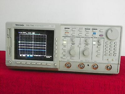 Tektronix Tds754c 500mhz 4 Channel Oscilloscope Options 131f2f 60 Day Warranty