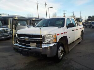 2008 Chevrolet Silverado 2500HD Crew Cab Regular Box 4WD Rail Se