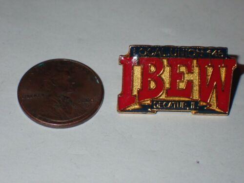 IBEW Collectible Lapel Pin Local 146 Decatur IL
