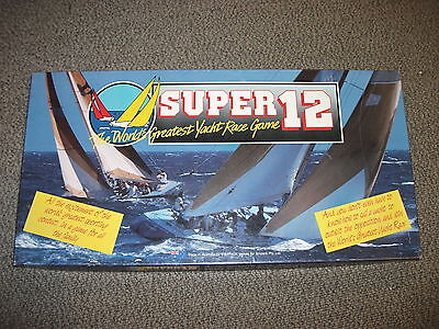 Super 12 The World's Greatest Yacht Nation Game 1986