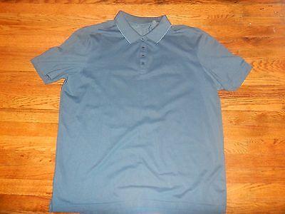 Perry Ellis Mens XLT Casual Blue Golf Polo Shirt BP1