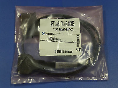 National Instruments Psh27-50f-d1 Cable For Ni Pcmcia Daqcard-dio-24 182807b-01