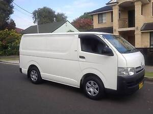 Toyota Hiace LWB 2009 (12/2008) Automatic Turbo Diesel, Logs Book Lidcombe Auburn Area Preview