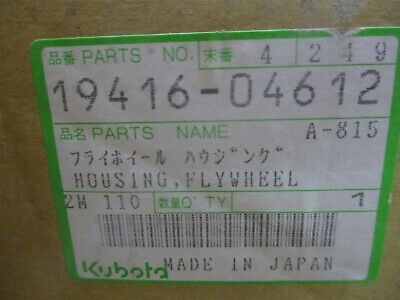 19416-04612 Genuine Oem Kubota Flywheel Housing 19416-04610