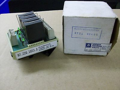 Wieland  87.220.1853.0  Relay Module 4 Block