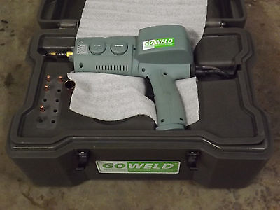 Broco Goweld Portable Mig Welder 12v Battery Powered Off-road Spool Gun Spoolgun