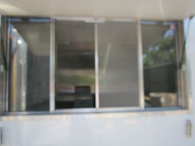 Quality Concession Trailer Serving Window Size 33 X 53 Lifetime Warranty