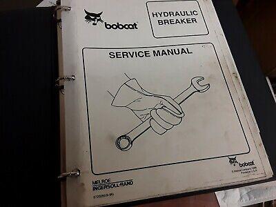 Bobcat Hydraulic Breaker Service Manual
