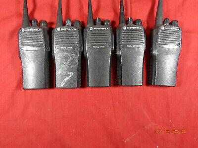 Motorola Radius Cp150 Aah50rcc9aa1an 4 Channel Radio Wantenna Lot 5 - Free Ship
