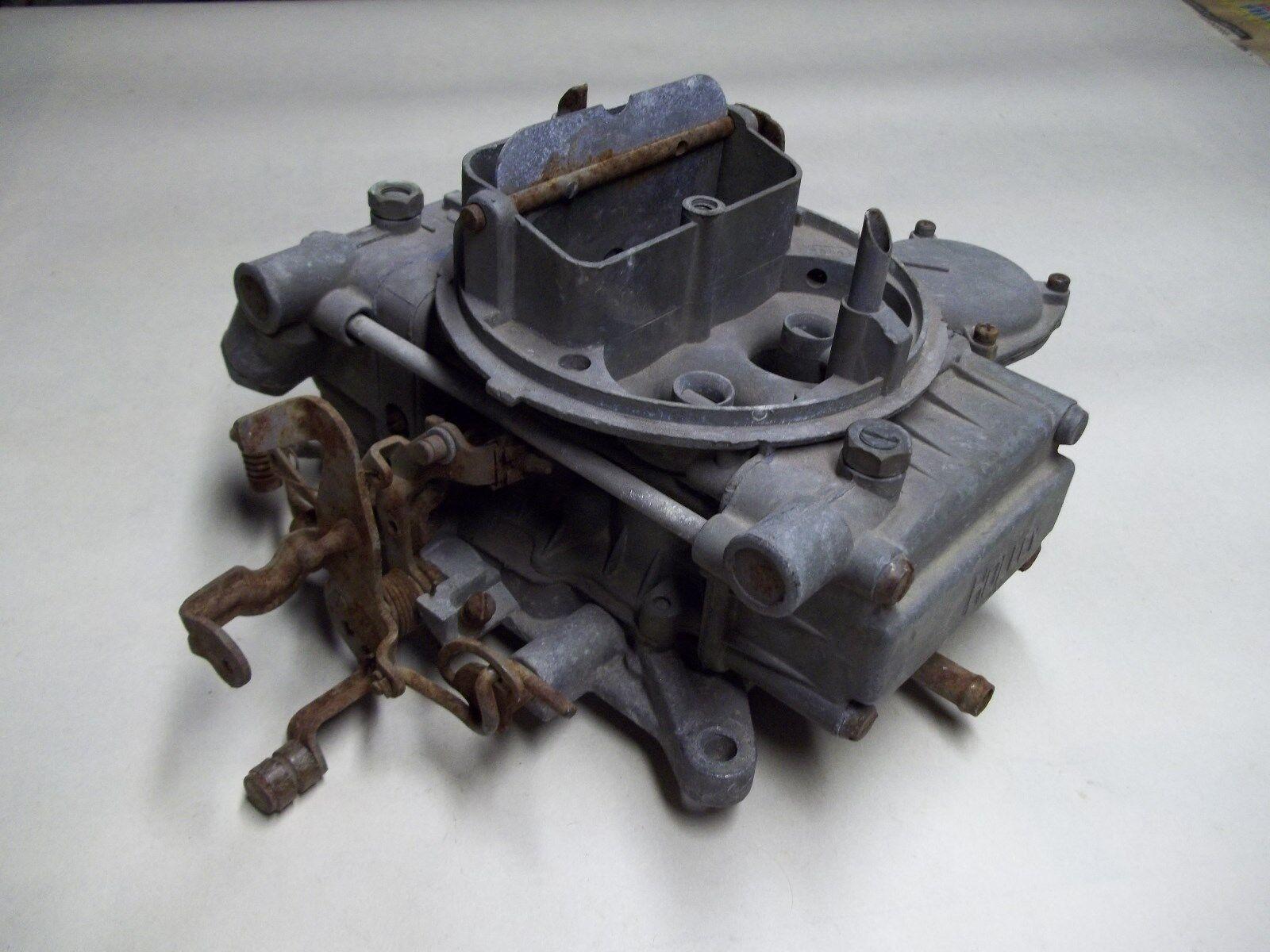 Holley 4 barrel carburetor for parts List 6830 Ford number D4TE-9510-ASA