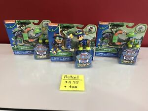 Paw Patrol Chase and Rocky figures toys dogs