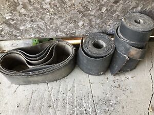 Used, round baler belts