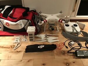DJI Phantom 3 with 2 batteries