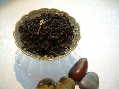 Peppermint Scented Loose Leaf Aged Asian Black Tea Blend Pure & Natural