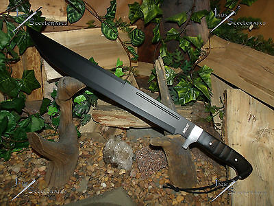 Machete/Knife/Sword/440 S.S./Combat/Camping/Survival/Zombie/Heavy/Scratch&Dent