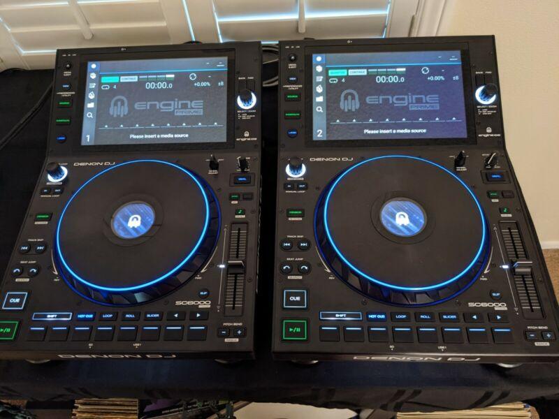 Denon DJ SC6000 PRIME Professional Standalone DJ Media Player