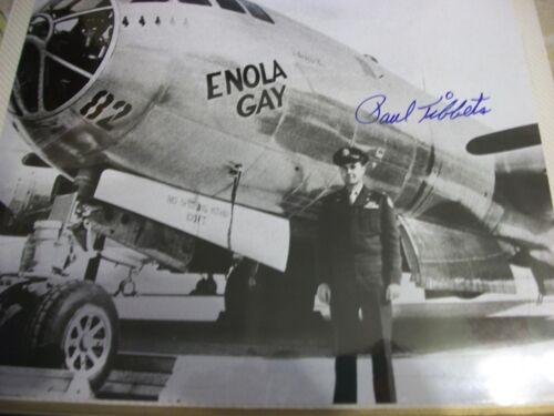 Paul Tibbets  autographed photo