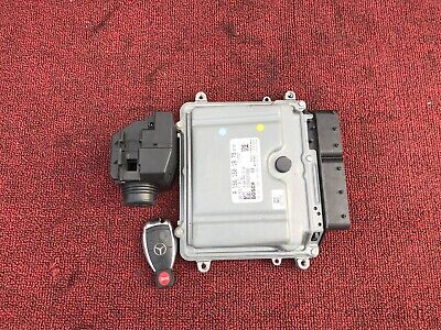 ✔MERCEDES W211 W219 E63 CLS63 AMG ENGINE COMPUTER DME MODULE IGNITION SWITCH OEM