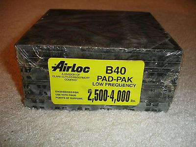 Airloc B40 Vibration Isolation Pad 6 X 6 Pad-pack
