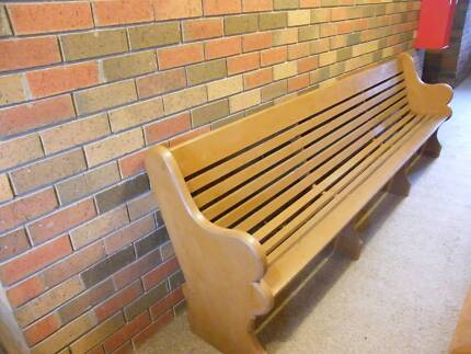 Church Pew - distinct and rare type
