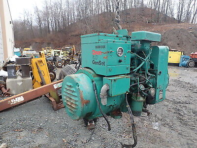 Onan 6.0 Djb Diesel Generator Genset 120240 1 Ph Nice Rv Low Hrs Cummins