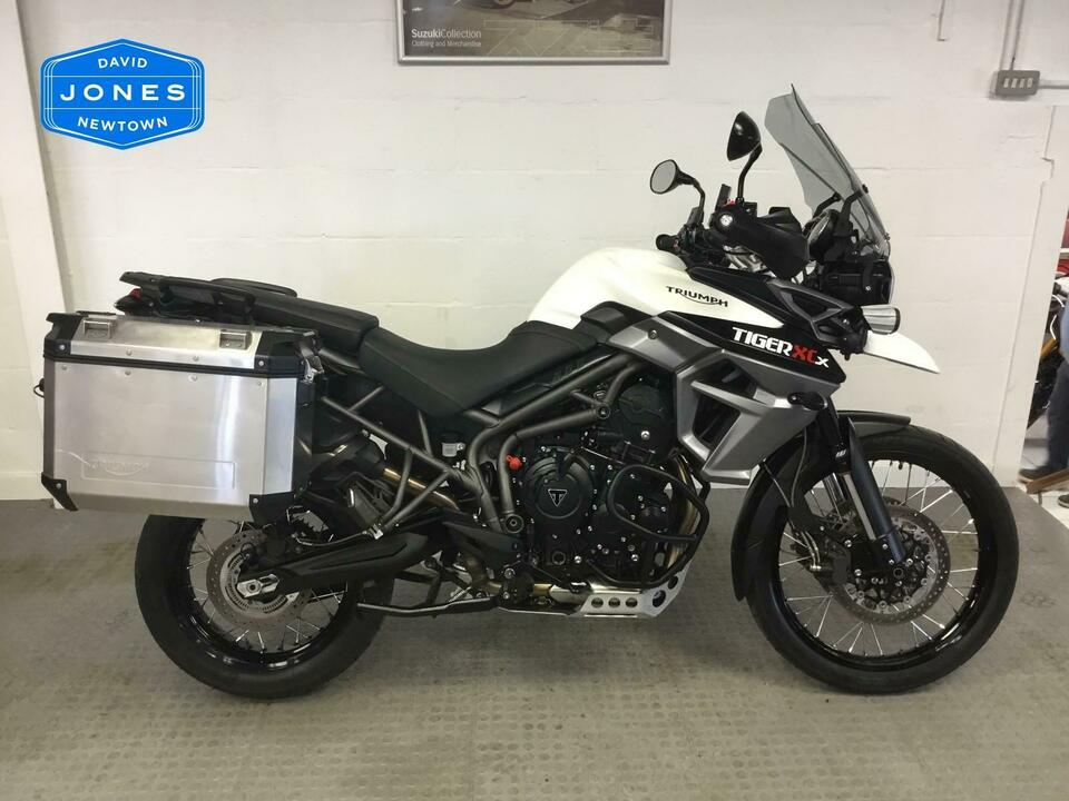 Triumph Tiger 800 XCx Adventure 2018 / 18 White
