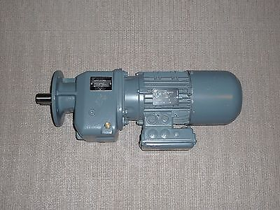 Nord Ac Motor Gearbox Brakesk12f 71l4bre5 277480v 0.43 Kw 34 Rpm 47.871