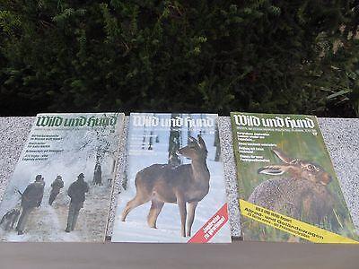 Zeitschrift Jagd Wild und Hund antik 1990