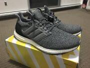 NEW ADIDAS ULTRA BOOST WOOL GREY SHOES SIZE US11 NMD YEEZY 350 EQT PK Burwood Burwood Area Preview
