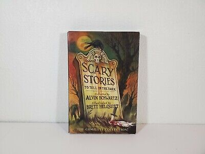 Scary Stories To Tell In The Dark Box Set Of 3 Books by Alvin Schwartz
