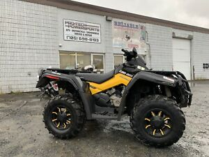 2011 Can-am Outlander 650 XT-P—Financing Available