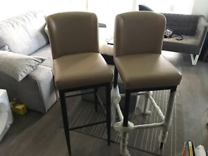Bar stools - excellent condition! 2 for $200