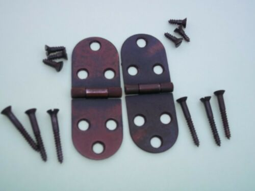 Singer Sewing Machine Cabinet Replacement Hinges and screws 1904