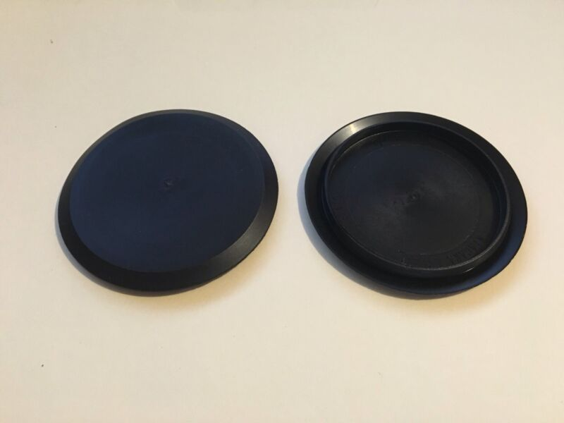 """5Pack of 2.5"""" Inch Flush Mount Black Plastic Body and Sheet Metal Holes Plug 419"""