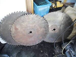 saw blades circular large 700mm 750mm old  mill stock  Mount Coolum Maroochydore Area Preview