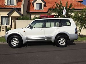 2000 Mitsubishi Pajero Exceed Automatic 4x4 Backpacker Car Brunswick Moreland Area Preview