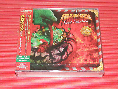 2017 HELLOWEEN Sweet Seductions K2 HD MASTERING  JAPAN 3 HQ CD + DVD