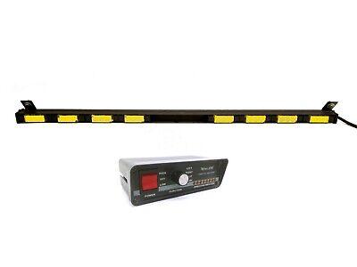Whelen Traffic Advisor Tir3 Super 8 Amber Led 43.5 Light Bar Tactld1 Control