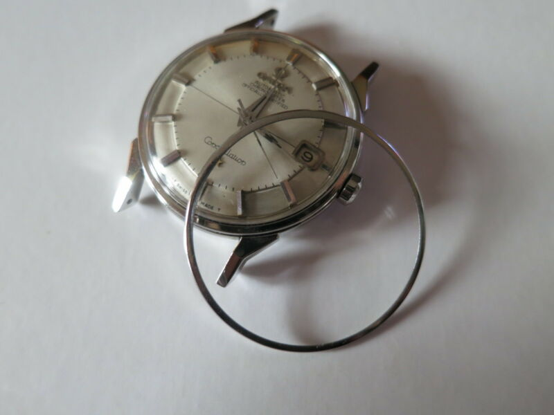 Vintage Omega Pie Pan Constellation Stainless Steel Watch Bezel