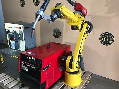 Fanuc Arc Mate 100ibe Rj3ic Welding Robot Tested Low Hrs Intl Ship