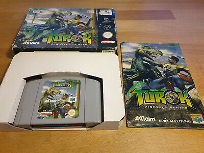 Turok Dinosaur Hunter Nintendo 64 N64 PAL OVP CIB