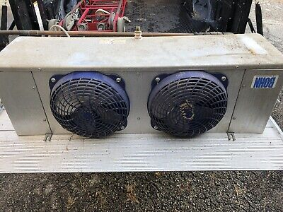Walk In Cooler 12 Slip-lock Panels Heat Craft Dual Fans Evaporator 115v